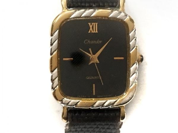 ORIENT(オリエント) 腕時計 A05101-20 レディース 革ベルト/型押し加工 黒