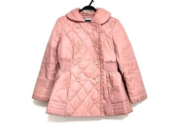 アルマアンローズ ダウンコート サイズ40 M レディース美品  ピンク 冬物