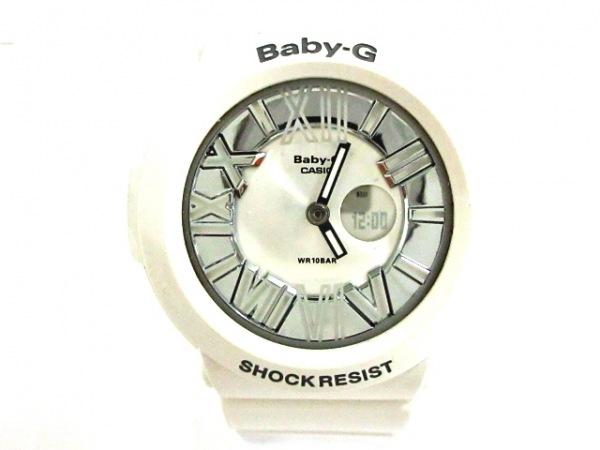 CASIO(カシオ) 腕時計美品  BGA-160 レディース シルバー