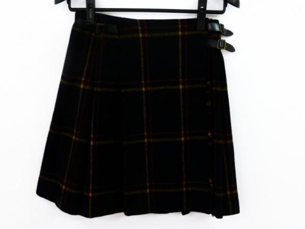 トゥモローランド 巻きスカート サイズ38 M レディース新品同様  チェック柄