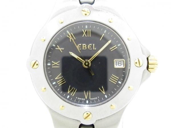 EBEL(エベル) 腕時計 スポーツウェーブ 6087621 レディース 黒