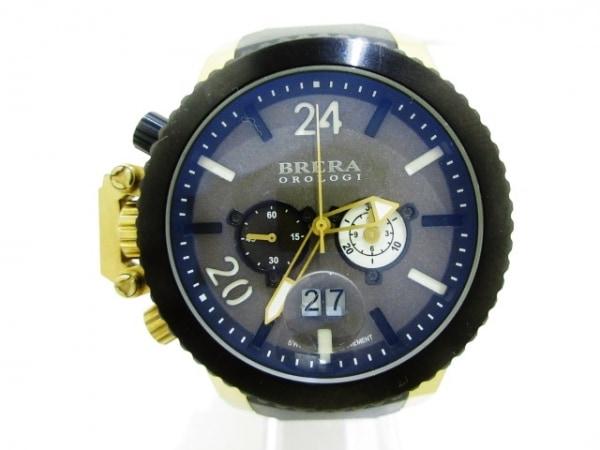 BRERA OROLOGI(ブレラオロロジ) 腕時計 - BRML2C48 メンズ クロノグラフ ブラウン