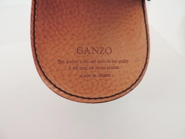 GANZO(ガンゾ) コインケース ダークブラウン レザー
