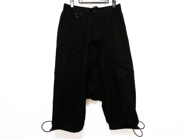 Y-3(ワイスリー) パンツ サイズS/P S レディース 黒 サルエル/adidas
