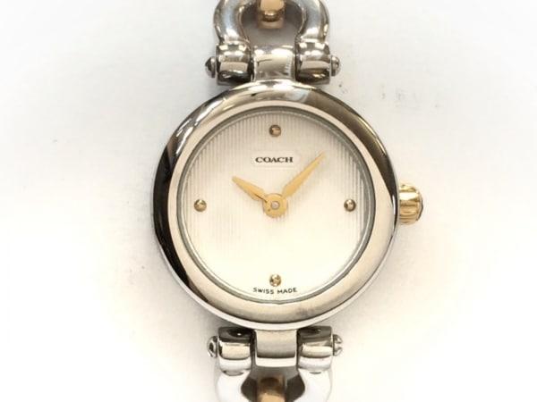 COACH(コーチ) 腕時計美品  0180 レディース 白