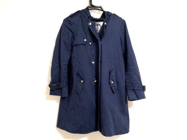 Bou Jeloud(ブージュルード) コート サイズ38 M レディース美品  ネイビー 冬物