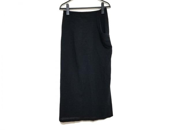 yohjiyamamoto(ヨウジヤマモト) ロングスカート サイズ1 S レディース美品  黒