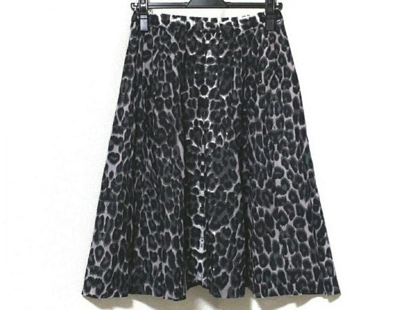 バルコニーアンドベッド スカート サイズF レディース美品  ウエストゴム/豹柄