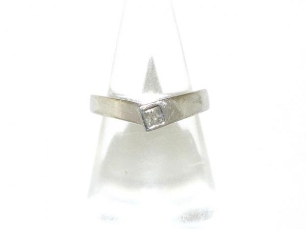 ヴァンドーム青山 リング - - Pt950×ダイヤモンド 1Pダイヤ/ダイヤ約0.10カラット