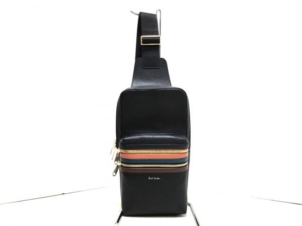 ポールスミス ワンショルダーバッグ美品  シグネチャージップストライプ ボディバッグ