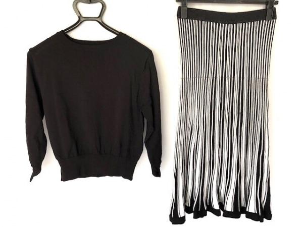 NOLLEY'S(ノーリーズ) スカートセットアップ サイズ38 M レディース新品同様  黒×白