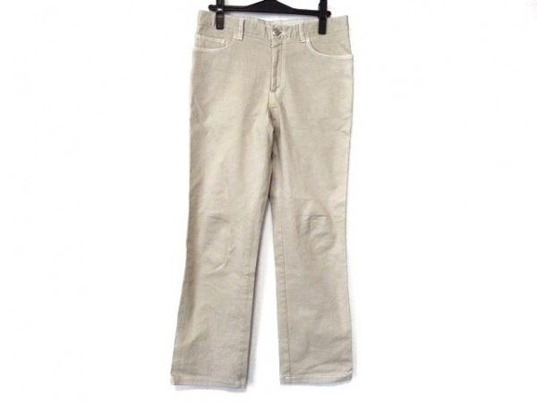 Brioni(ブリオーニ) パンツ サイズ46 XL メンズ美品  ベージュ