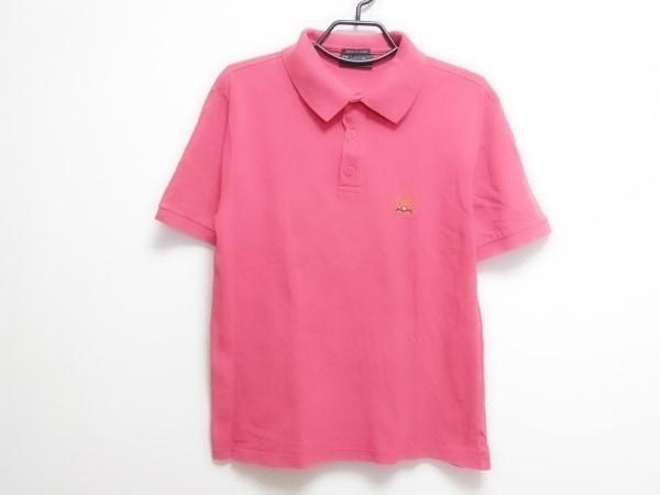 クリスチャンディオールムッシュ 半袖ポロシャツ レディース新品同様  ピンク