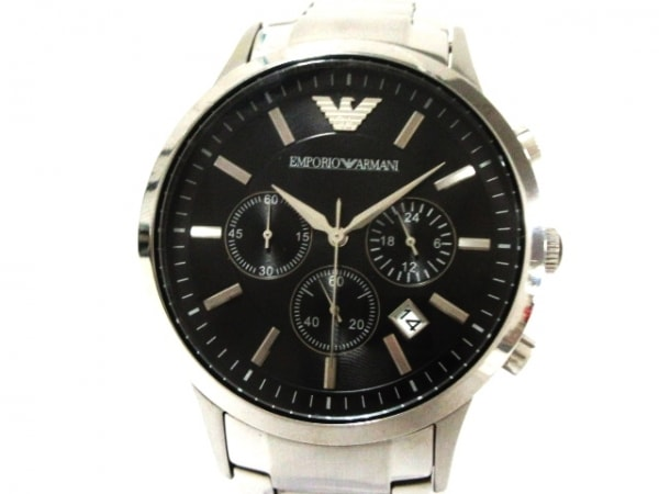 EMPORIOARMANI(アルマーニ) 腕時計美品  AR-2434 メンズ 黒 1