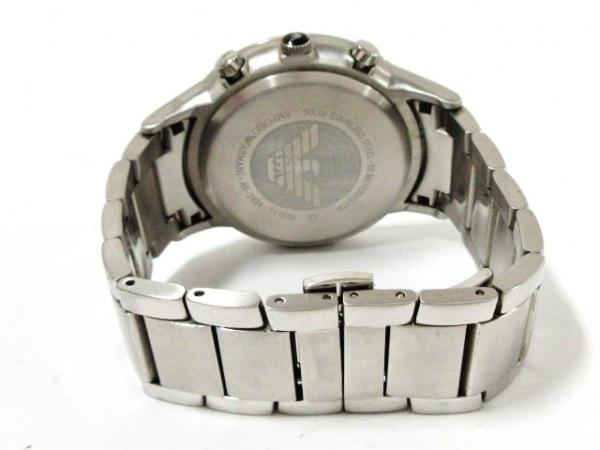 EMPORIOARMANI(アルマーニ) 腕時計美品  AR-2434 メンズ 黒 3