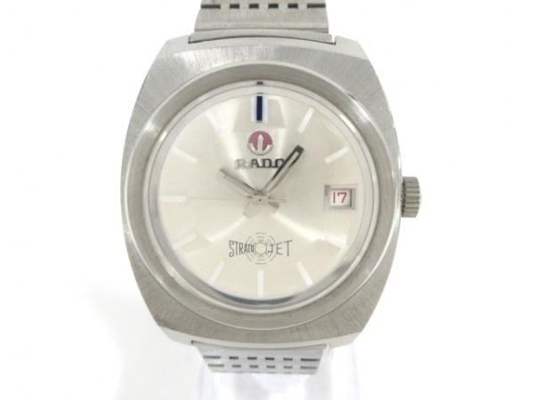 RADO(ラドー) 腕時計美品  ストラトジェット/ウォーターシールド - メンズ シルバー