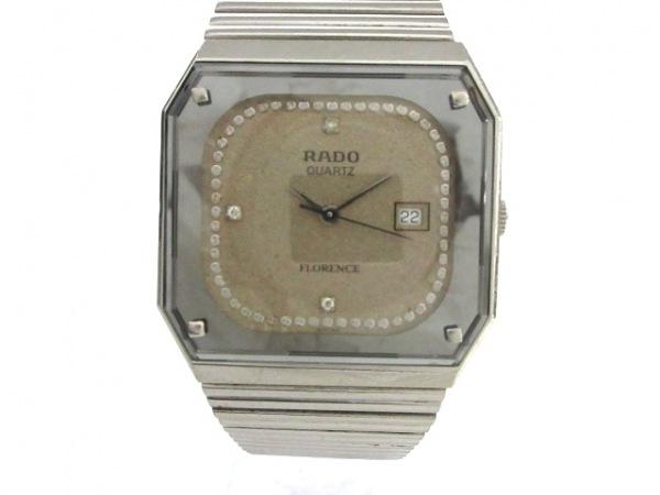 RADO(ラドー) 腕時計 フローレンス 129.3356.4 メンズ グレー