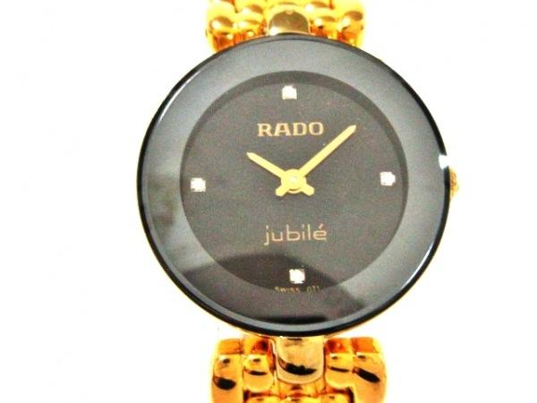 RADO(ラドー) 腕時計美品  ジュビリー 153.3678.2 レディース 黒