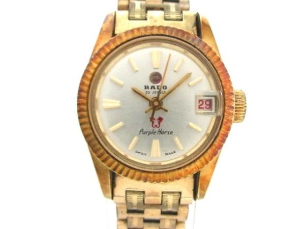RADO(ラドー) 腕時計 パープルホース/ウォーターシールド 780 レディース シルバー