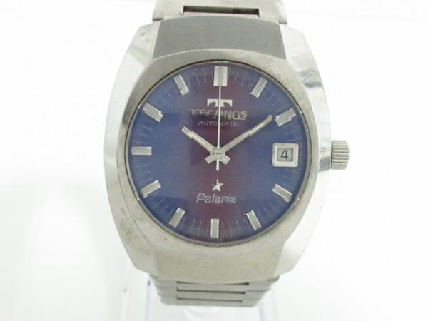 TECHNOS(テクノス) 腕時計 ポラリス T2J0305 メンズ パープル