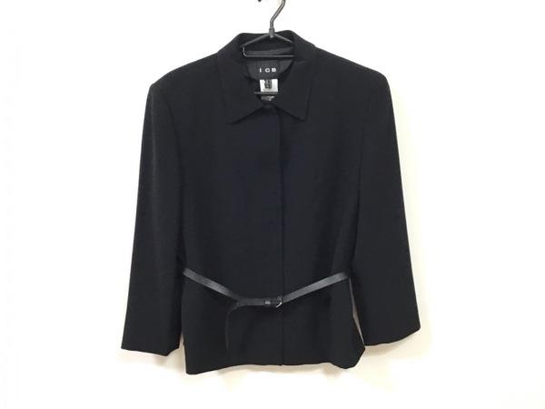 ICB(アイシービー) ジャケット サイズ15 L レディース 黒