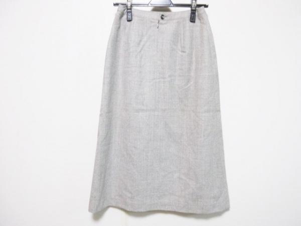 Scapa(スキャパ) スカート サイズ38 L レディース美品  ライトグレー プリーツ