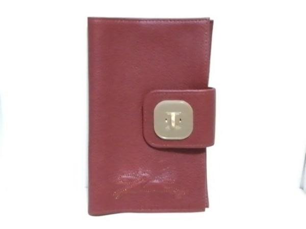 LONGCHAMP(ロンシャン) ブックカバー美品  ブラウン レザー