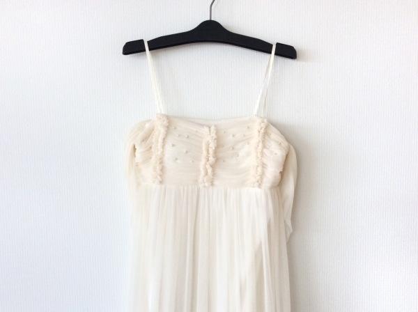 STRAWBERRY-FIELDS(ストロベリーフィールズ) ドレス レディース ベージュ×マルチ