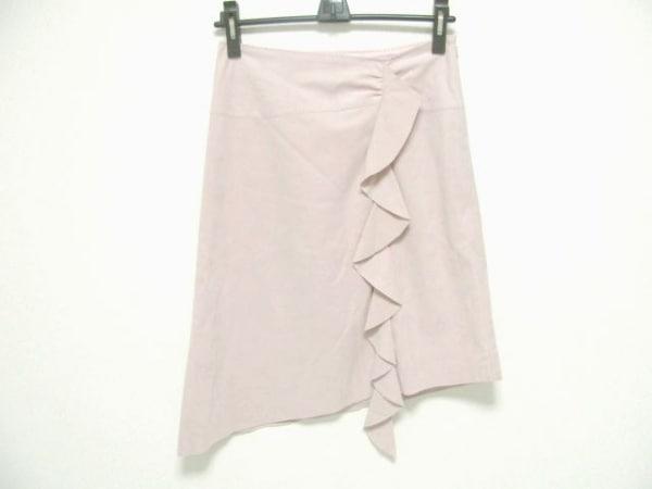 MATERIA(マテリア) スカート サイズ36 S レディース ピンク フリル