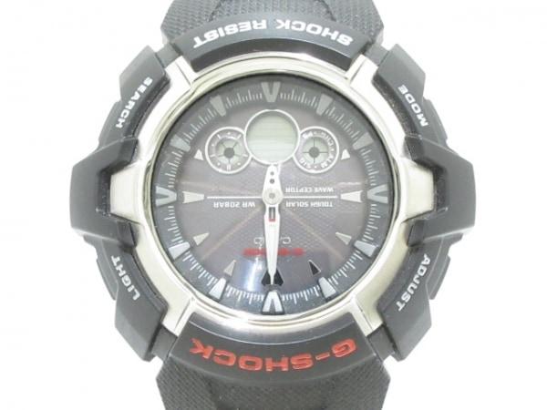 CASIO(カシオ) 腕時計美品  G-SHOCK GW-1500J メンズ ラバーベルト ダークグレー