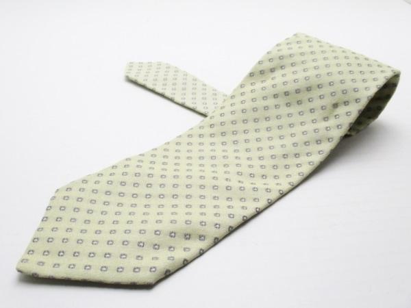 GIORGIOARMANI(ジョルジオアルマーニ) ネクタイ メンズ美品  アイボリー×グレー
