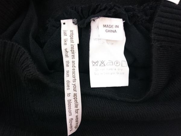 ANTIPAST(アンティパスト) スカート レディース美品  黒