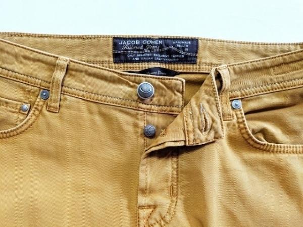 JACOB COHEN(ヤコブコーエン) パンツ サイズ34 S メンズ ベージュ