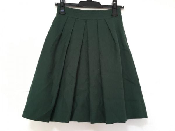 JUSGLITTY(ジャスグリッティー) スカート サイズ0 XS レディース グリーン