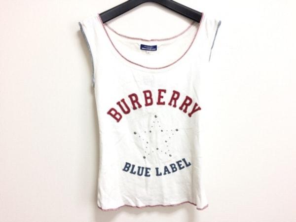 バーバリーブルーレーベル ノースリーブTシャツ サイズ38 M レディース スター