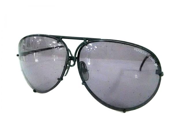 PORSCHE DESIGN(ポルシェデザイン) サングラス 黒 CARRERA プラスチック×金属素材