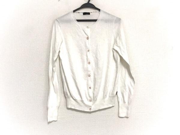 PaulSmith BLACK(ポールスミスブラック) カーディガン サイズXL レディース美品  白