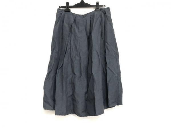 クリステンセンドゥノルド スカート サイズ2 M レディース ネイビー