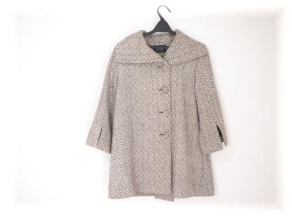 RAY BEAMS(レイビームス) コート レディース 白×ダークブラウン 冬物