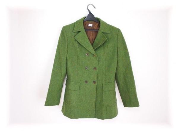 ポールスミスウィメン コート サイズ42 L レディース美品  グリーン 冬物