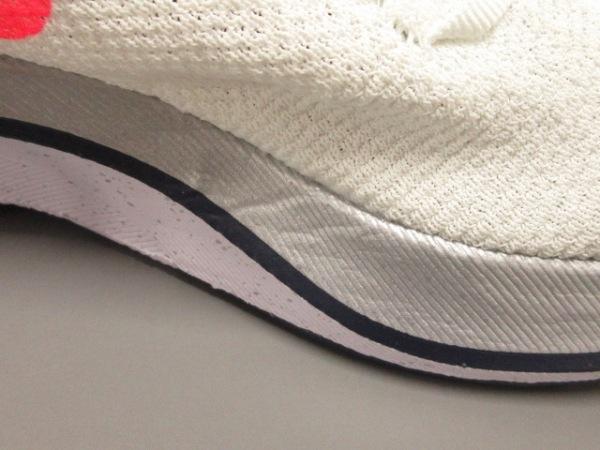 ナイキ スニーカー メンズ美品  ヴェイパーフライ 4% フライニット AJ3857-160 ラメ