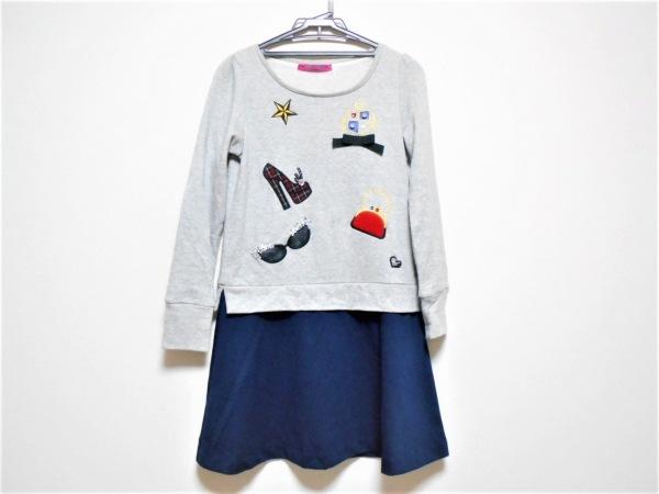 ドーリーガール ワンピース サイズ2 S レディース美品  ビジュー/ANNA SUI