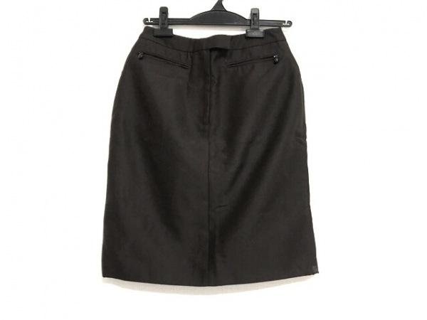 GUCCI(グッチ) スカート サイズ40 M レディース美品  ダークブラウン