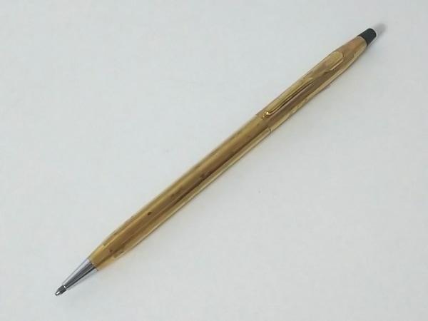CROSS(クロス.) ボールペン ゴールド インクあり(青) 金属素材