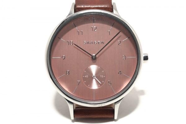 SKAGEN(スカーゲン) 腕時計 SKW2406 レディース ピンク