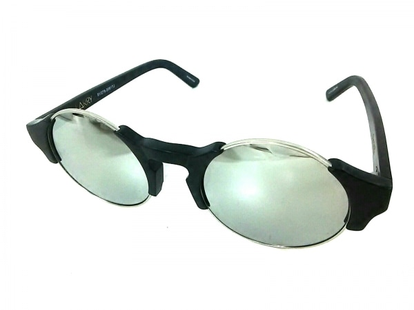 SABRE(セイバー) サングラス美品  LARRY SV278-30817J 黒×シルバー プラスチック