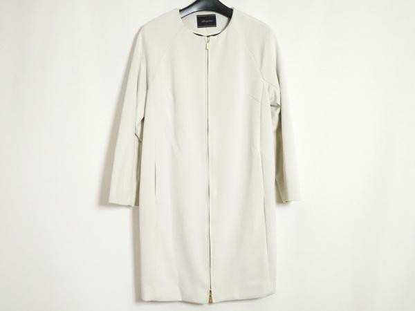 Loungedress(ラウンジドレス) ジャケット サイズF レディース 白 ジップアップ