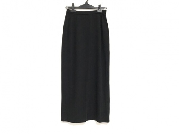 HIROKO KOSHINO(ヒロココシノ) ロングスカート サイズ66-90 レディース美品  黒