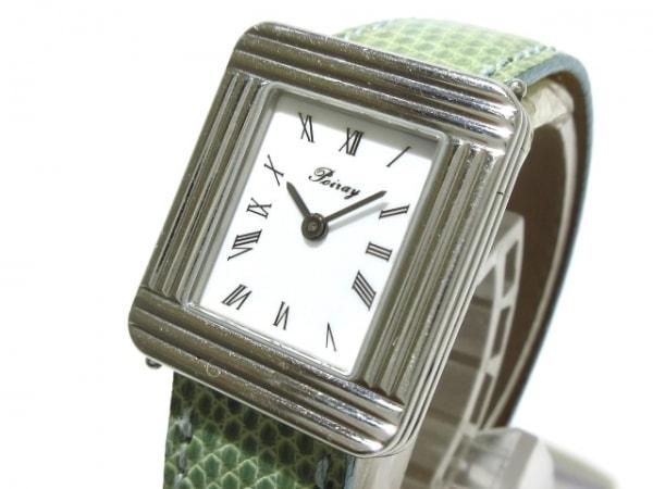 poiray(ポアレ) 腕時計 マ・プルミエ - レディース 革ベルト 白