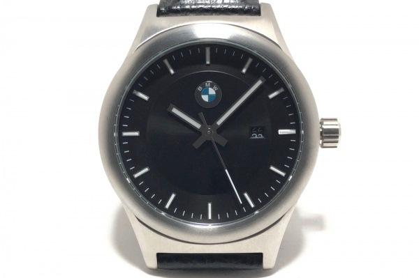 BMW(ビーエムダブリュ) 腕時計 - メンズ 黒